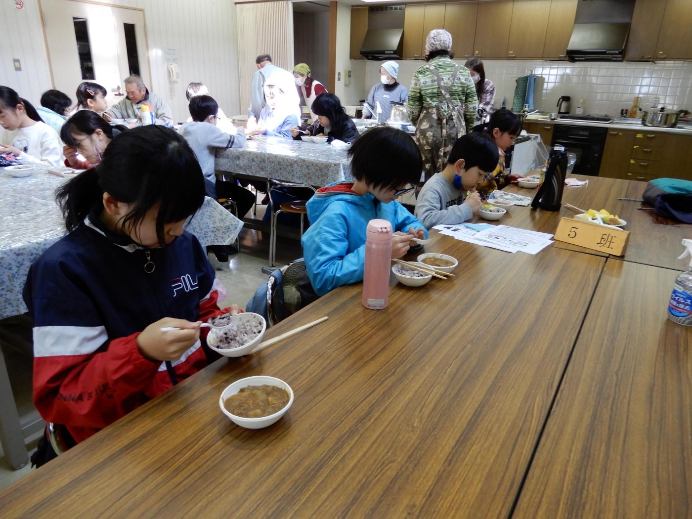 昼食(黒豆ご飯とビーフシチュー)